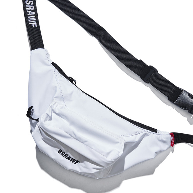 BSRAWF POCKET WAISTBAG WHITE (waterproof) [7/4 예약배송]