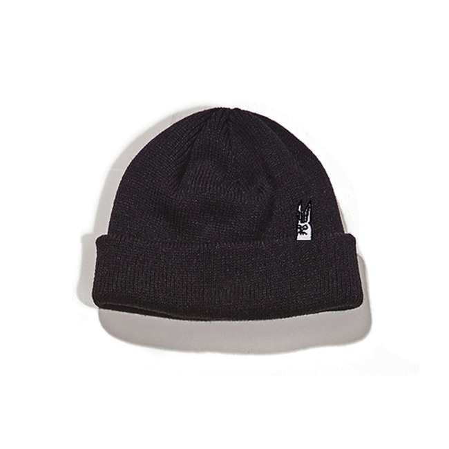 BS GR SHORT BEANIE BLACK