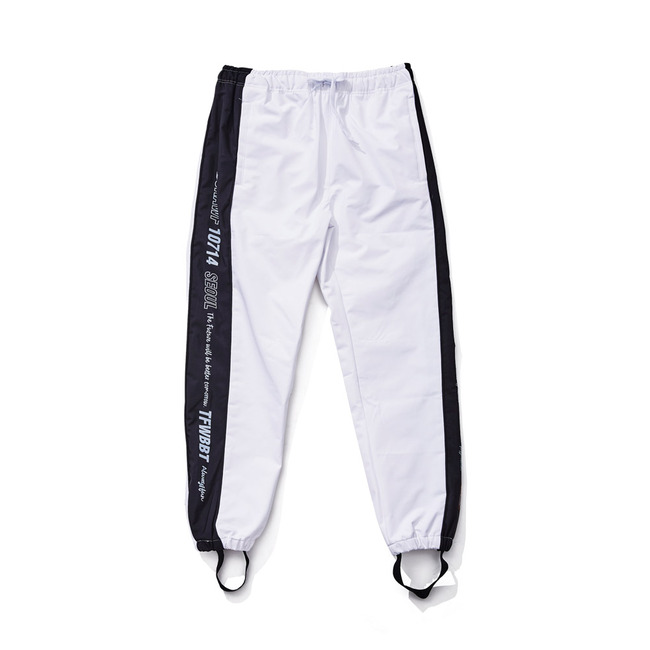 BSR WATERPROOF JOGGER PANTS WHITE