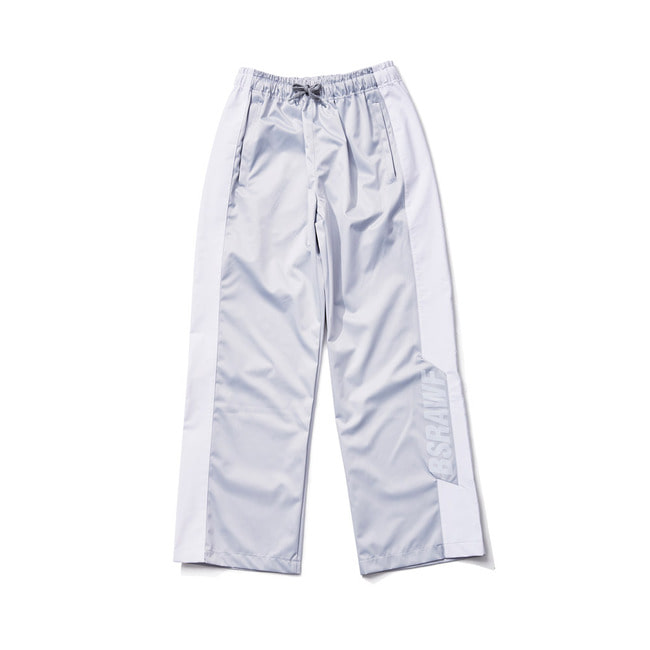 BSRAWF WATERPROOF TRACK PANTS SILVER
