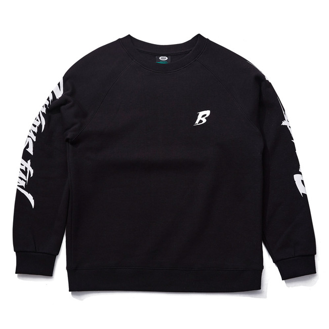 BACKSTREET CREWNECK BLACK