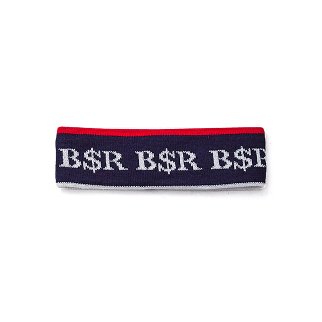 BSR KNIT HEADBAND NAVY