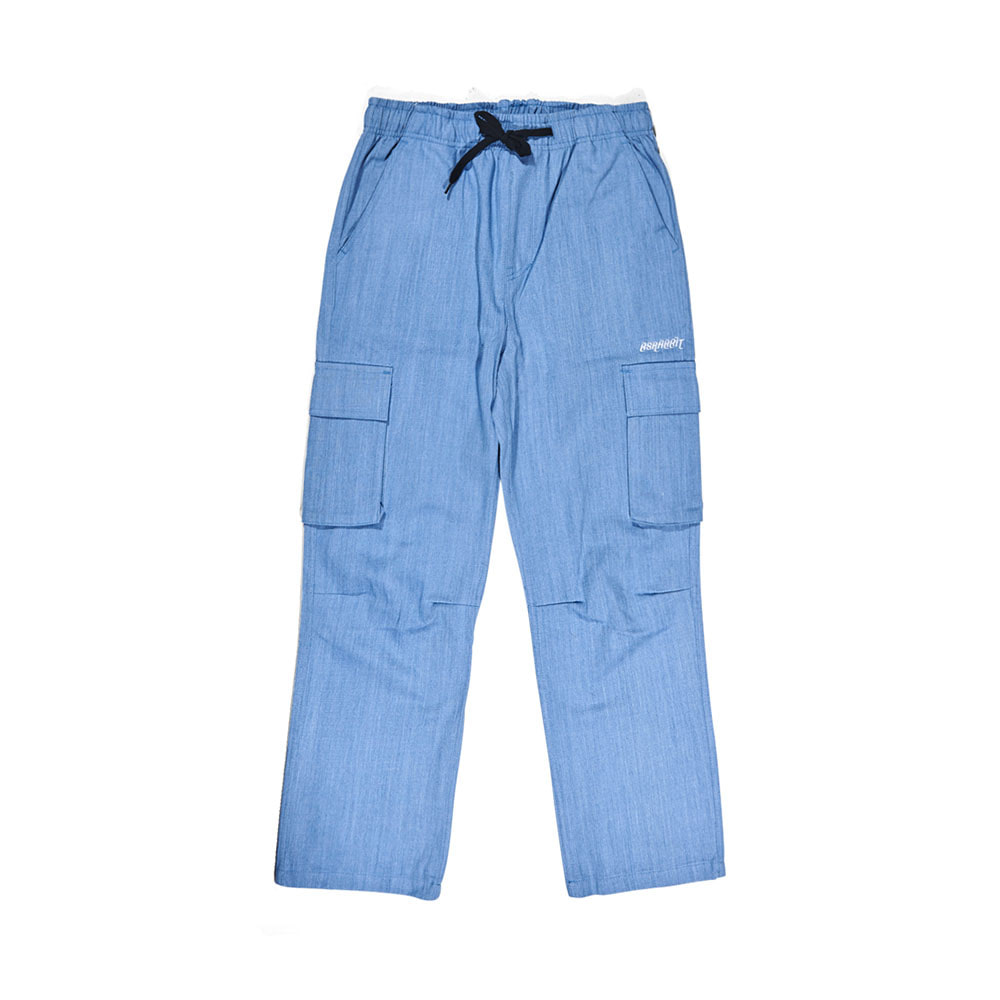BSRABBIT BSR CARGO TRACK PANTS DENIM