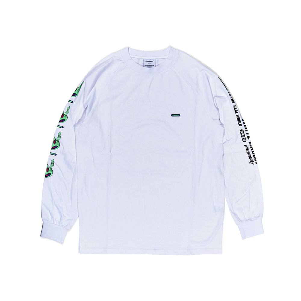 REGR LONG SLEEVE WHITE