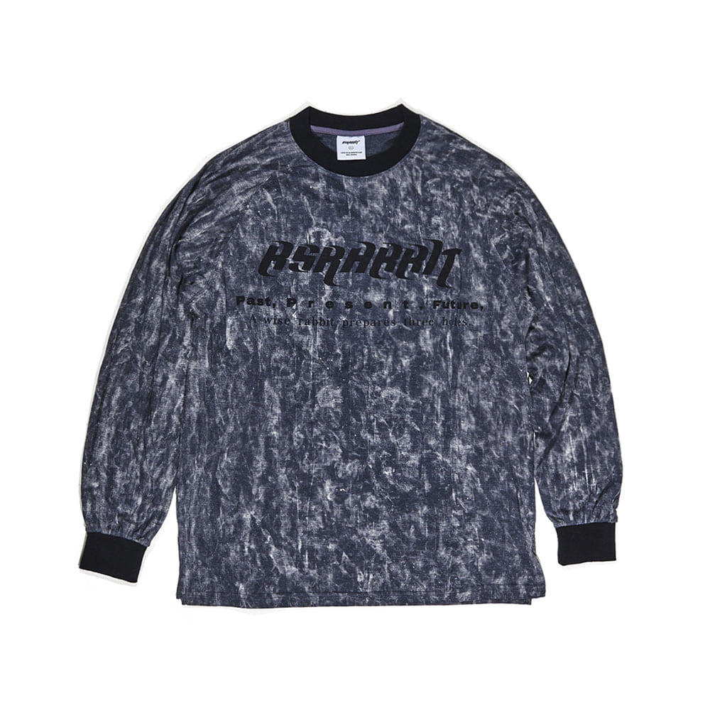 BSRABBIT RUN LONG SLEEVE BLACK