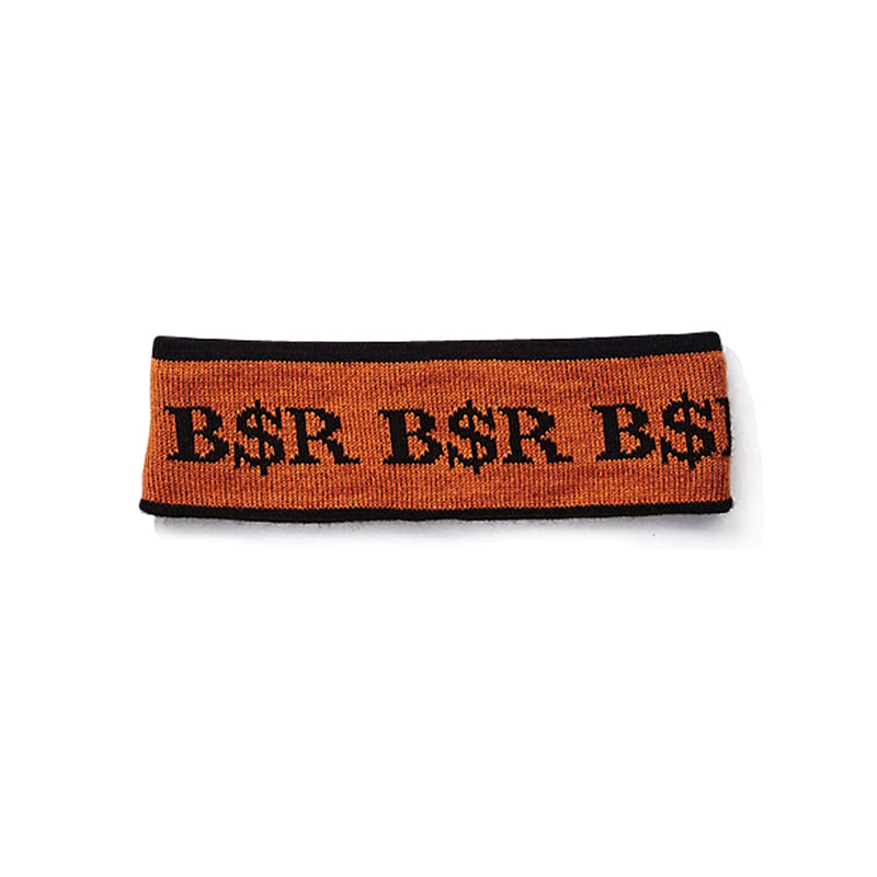 BSR KNIT HEADBAND BROWN