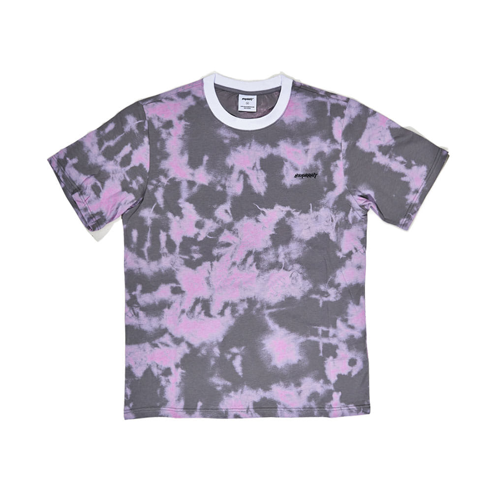 HOPE LOGO T-SHIRT GRAY PINK