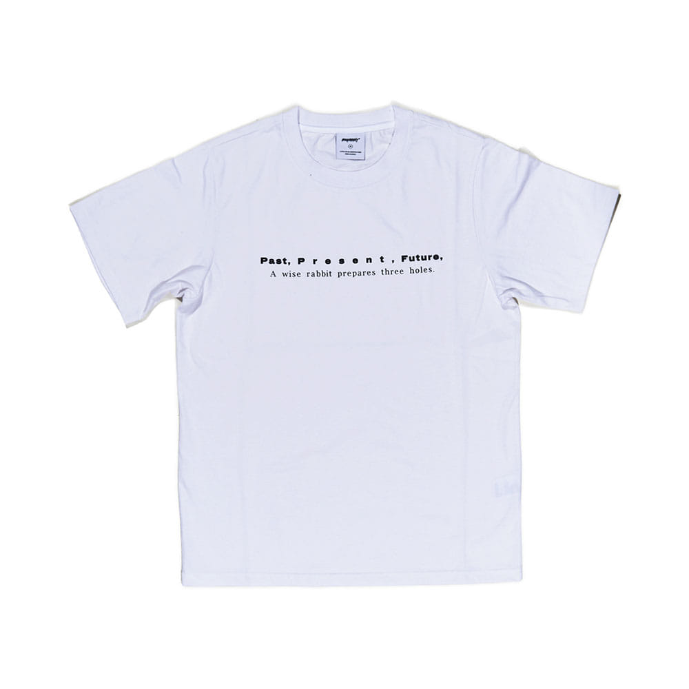 BSRABBIT PPF T-SHIRT WHITE
