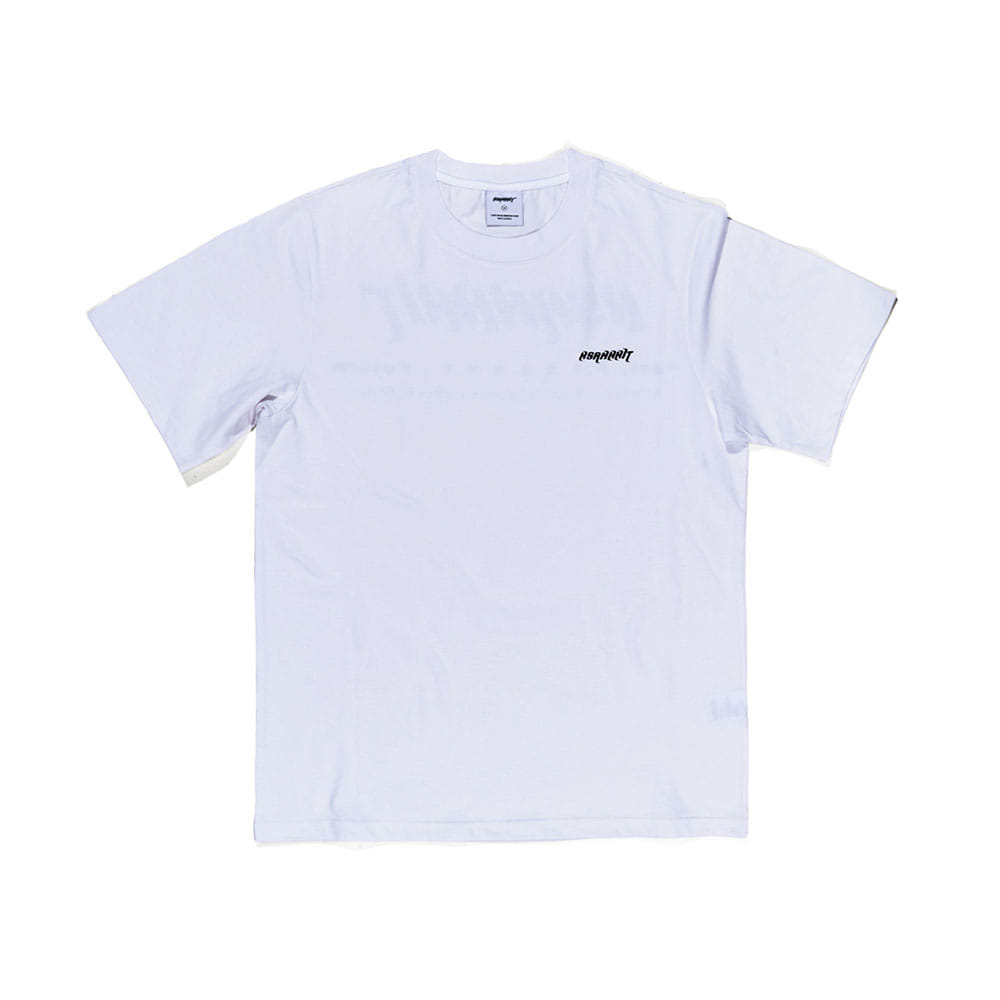 BSRABBIT LOGO T-SHIRT WHITE