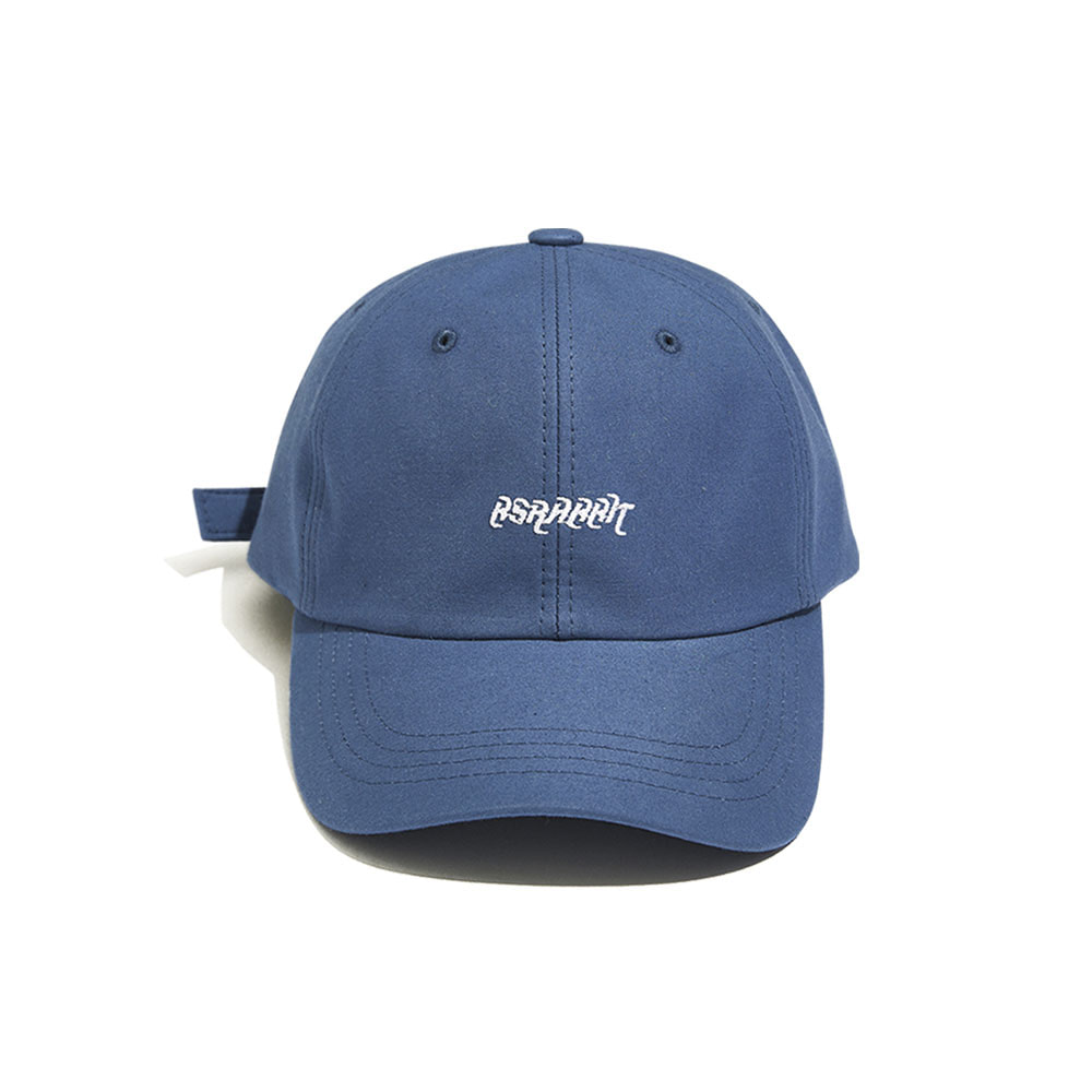 BSRABBIT WASHING CAP BLUE
