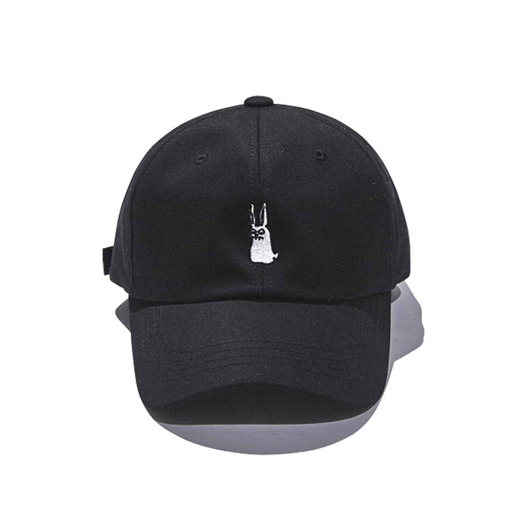 GR OPEN ZIPPER CAP BLACK